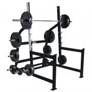 Олимпийская стойка для приседаний Hammer Strength
